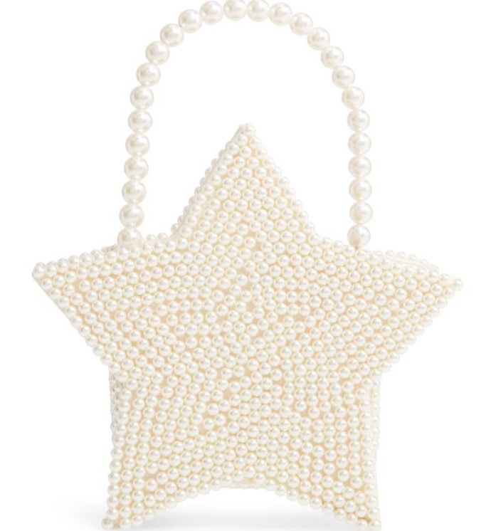Halogen x Atlantic-Pacific Star Pearl Handbag