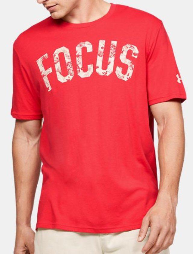 Under Armour Men's Project Rock Focus Graphic T-Shirt
