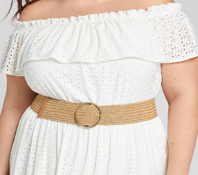 wide women stretch belt