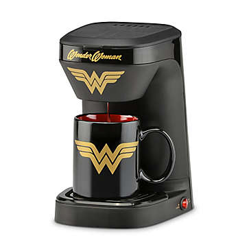 DC Comics  Wonder Woman 1 Cup Coffee Maker with Mug