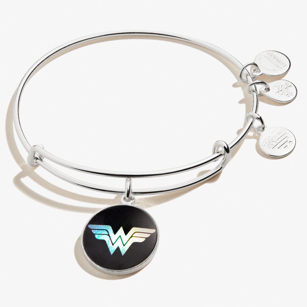 Alex and Ani Wonder Woman Logo Charm Bangle