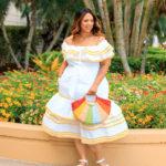 Lisa Marie Fernandez x Target Ric Rac Trim Dress