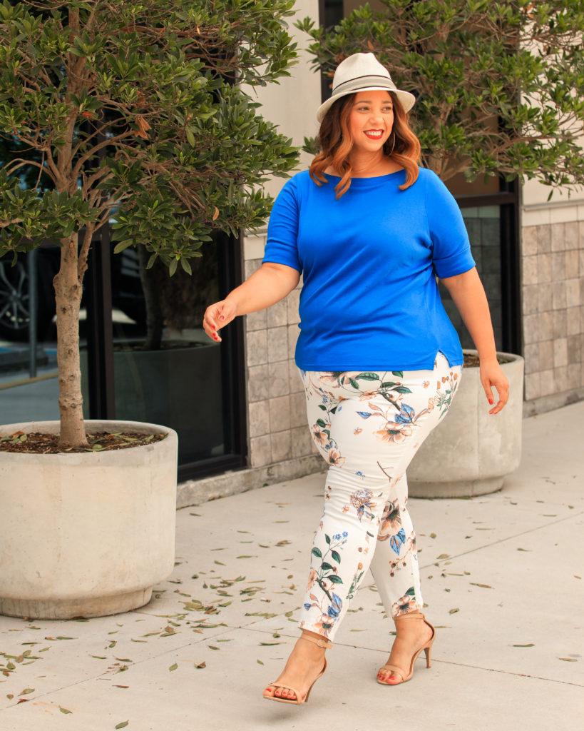 Cenia New York Convi Printed Skinny Jeans
