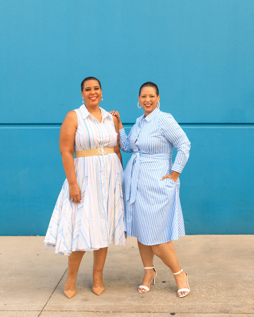 Farrah Estrella and Latonia Robinson