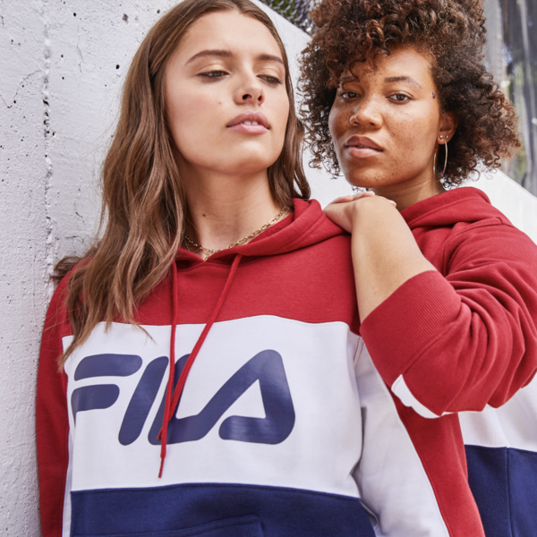 FILA plus size activewear for Dia and company