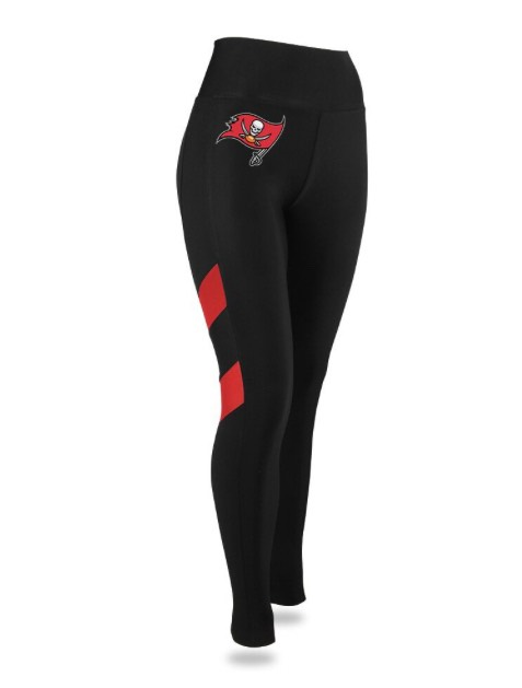 Tampa Bay Buccaneers Black Leggings