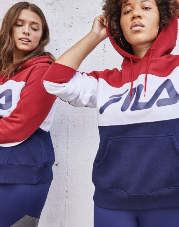 fila plus size collection