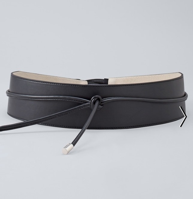black obi belt