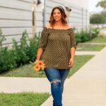 Wearing Polka Dots in Fall