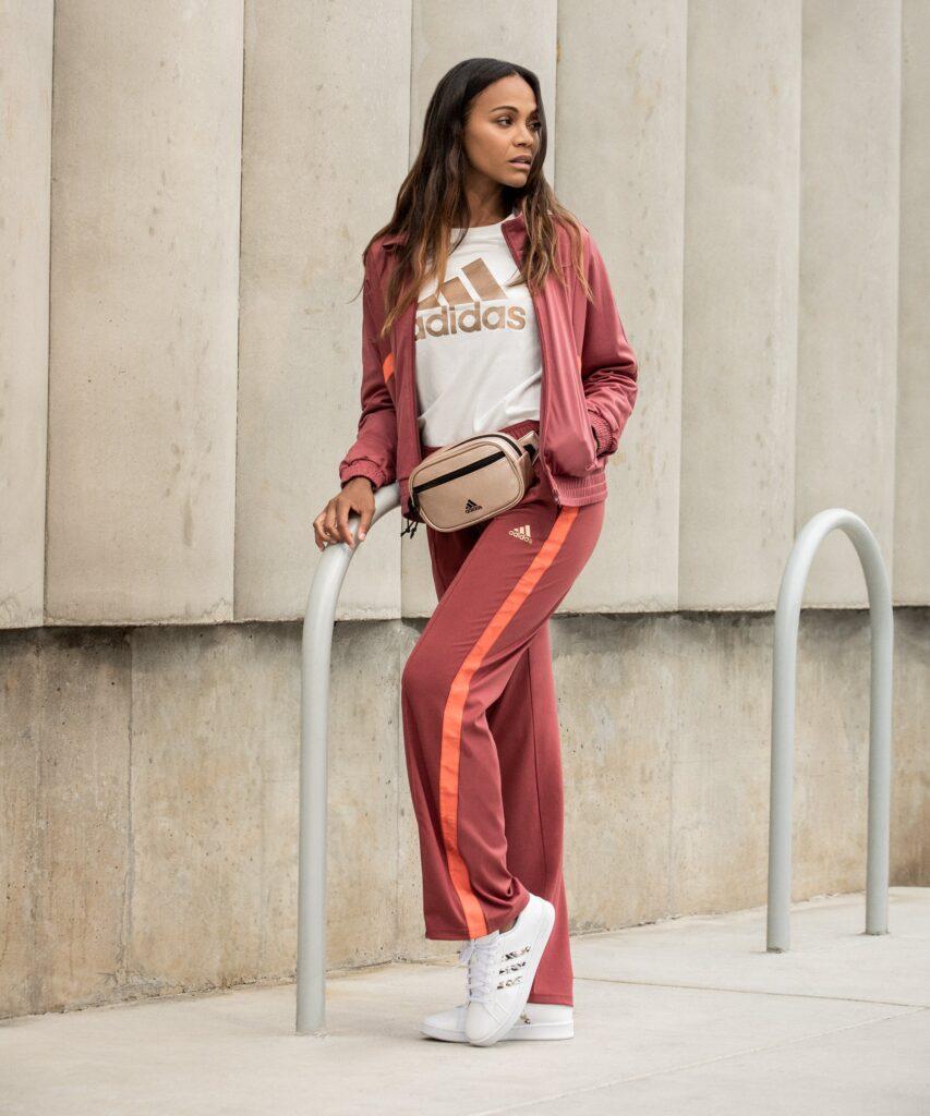 Zoe Saldana x Adidas and Kohls