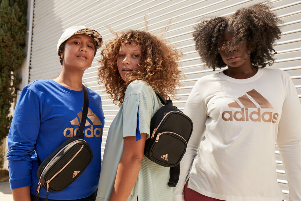 Zoe Saldana x Adidas