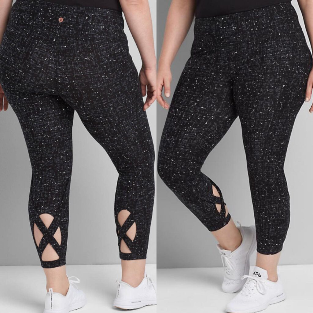 LIVI 7/8 Legging -Strappy Back Insets