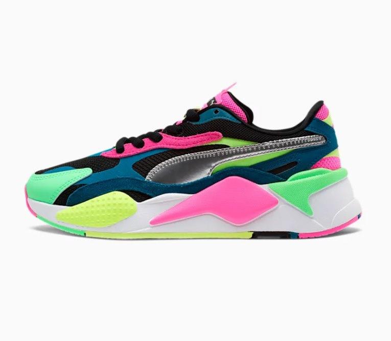 RS-X³ Puzzle Metallic Women's Sneakers