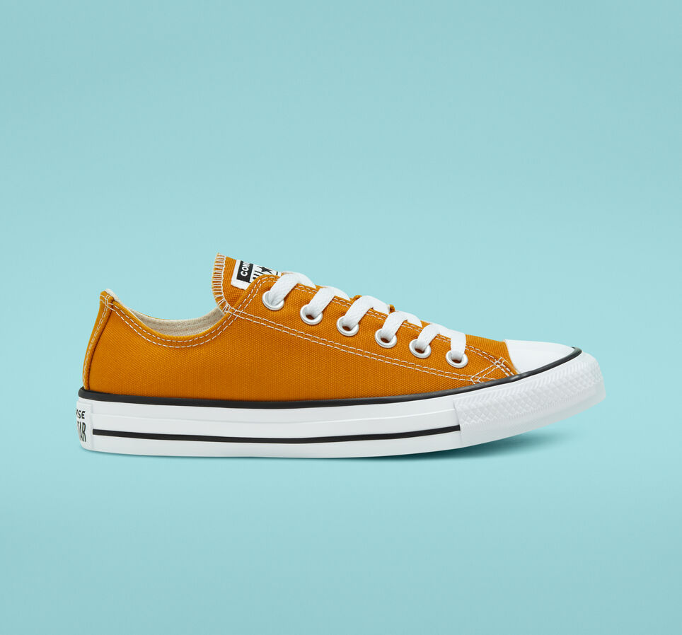 saffron yellow converse