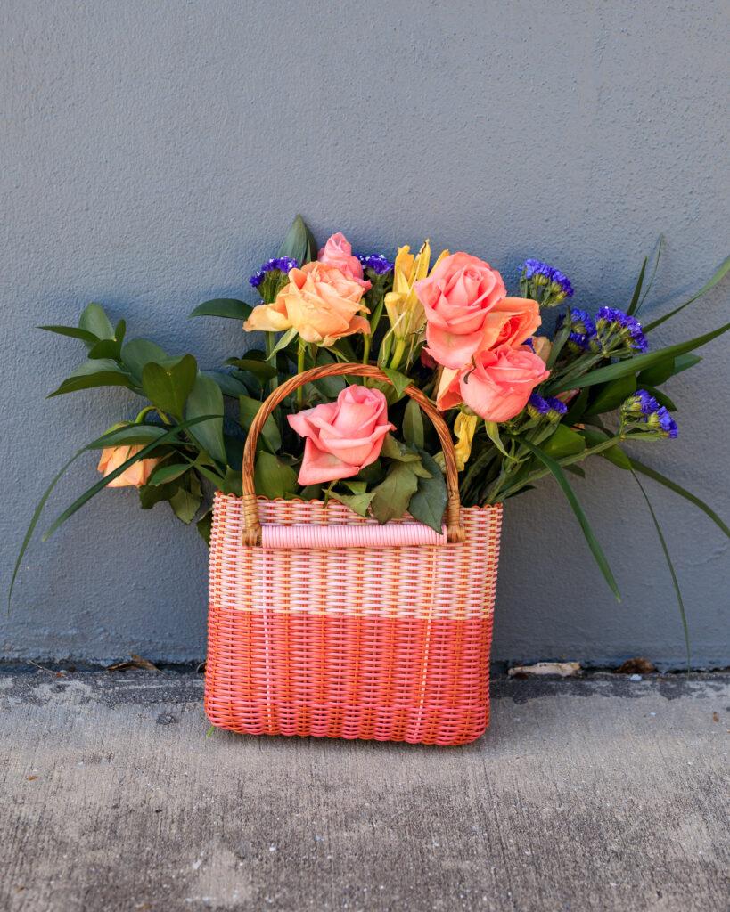 pink vanessa alejandra designs bag