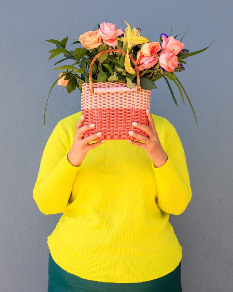vanessa Alejandra designs handbag