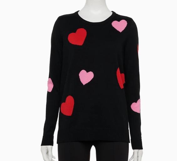 black hearts sweater