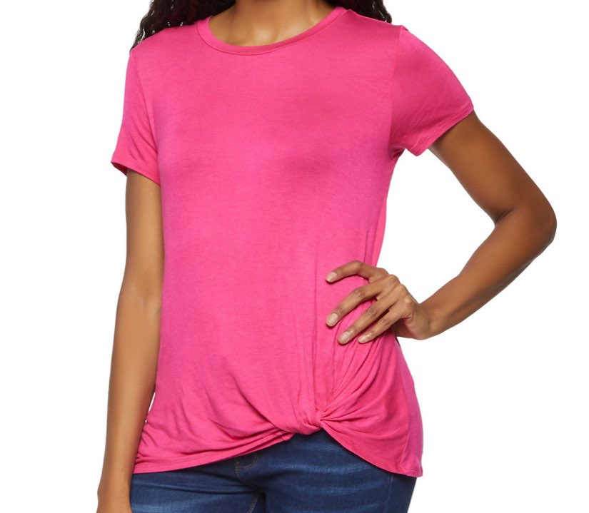 pink top from rainbow