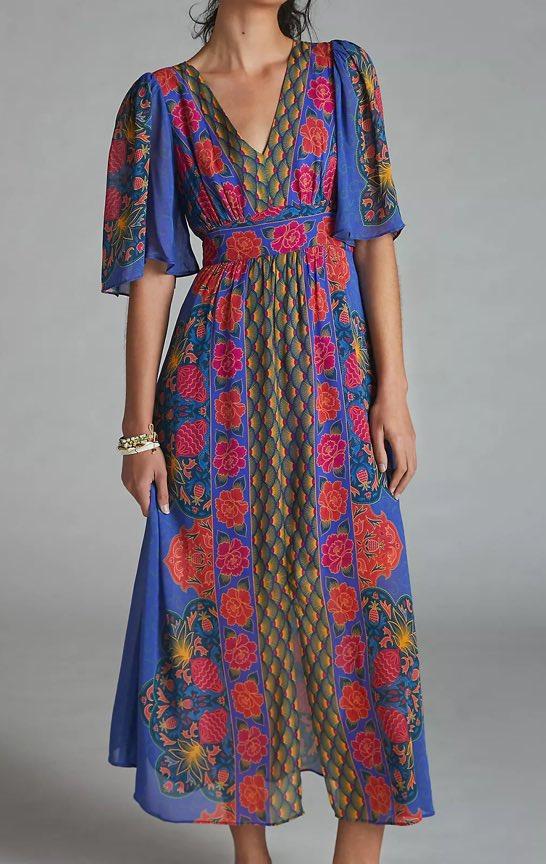 Farm Rio Rosita Maxi Dress