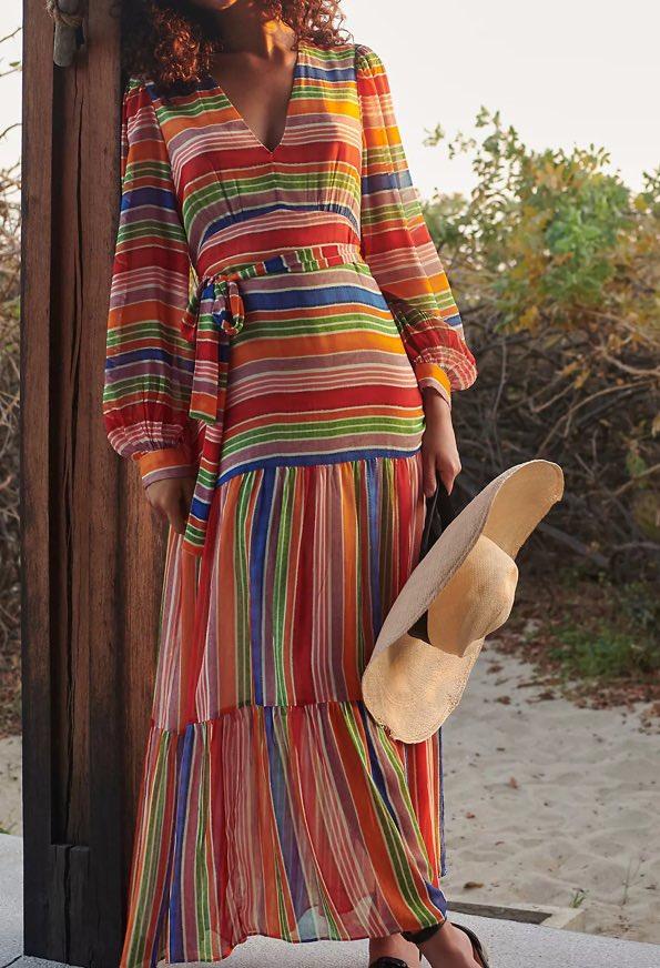 farm rio luana maxi dress