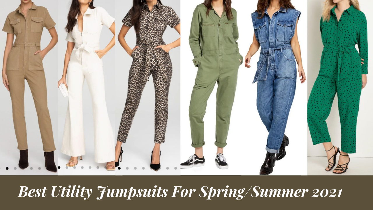Best Utility Jumpsuits For Spring/Summer 2021