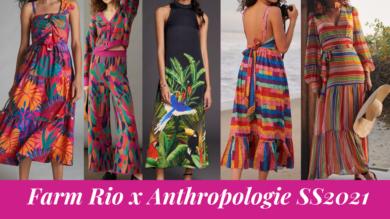 Farm Rio x Anthropologie