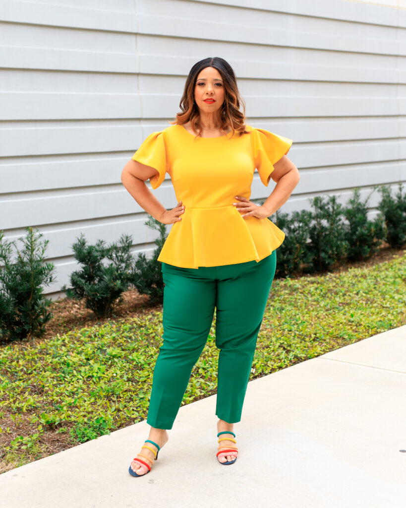 Green & Yellow Color Combination