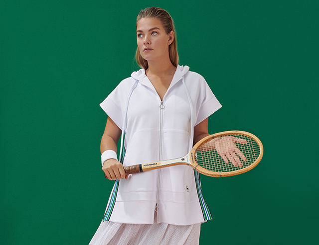 marina rinaldi tennis inspired collection