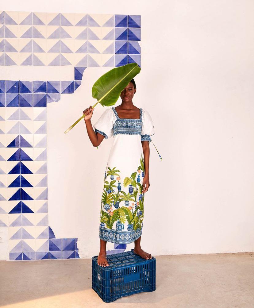 Vase Forest Maxi Dress by farm rio