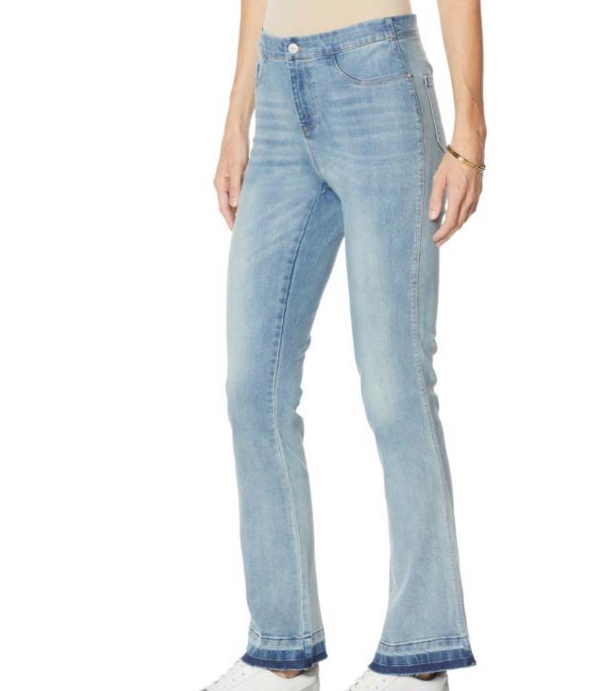 Cenia New York ConVi Fashion-Style Boot-Cut Jean