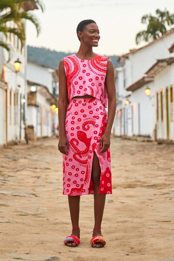 Octocool Wrap Skirt