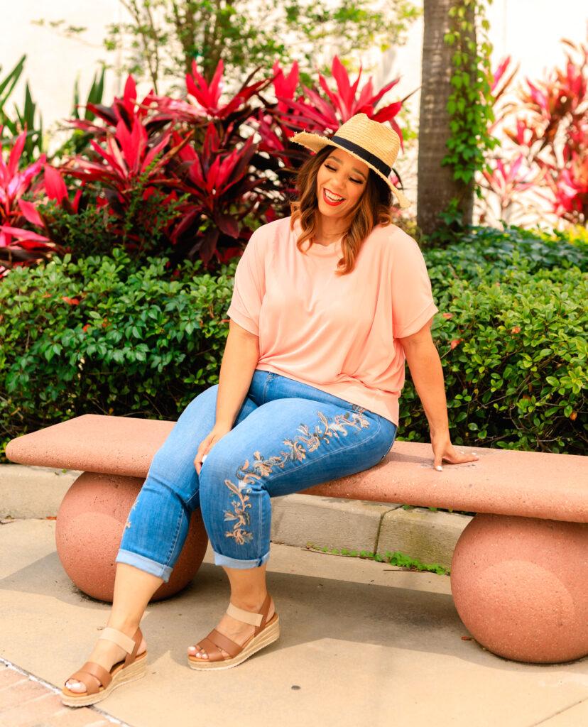 Tampa plus size model Farrah Estrella