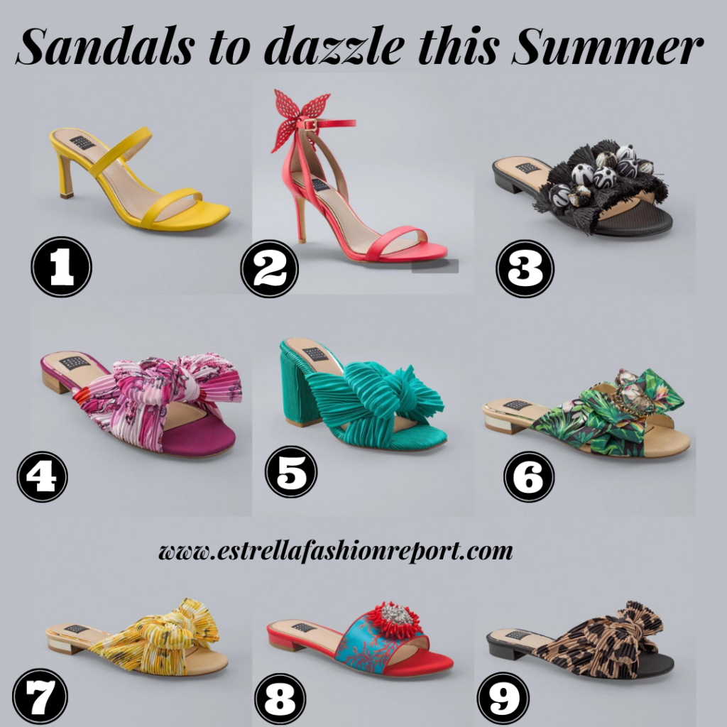 Sandals to dazzle this Summer