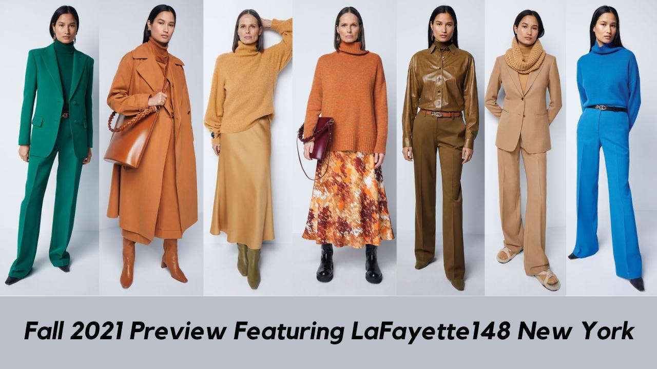 fall fashion from lafayette 148