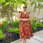 African Print Dress: Belt or No Belt?