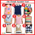 On Trend: Sweater Vest